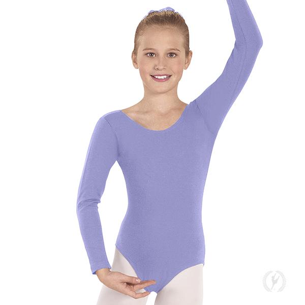 3e9f6733d Child Long Sleeve Dance Dress with Cotton Lycra®