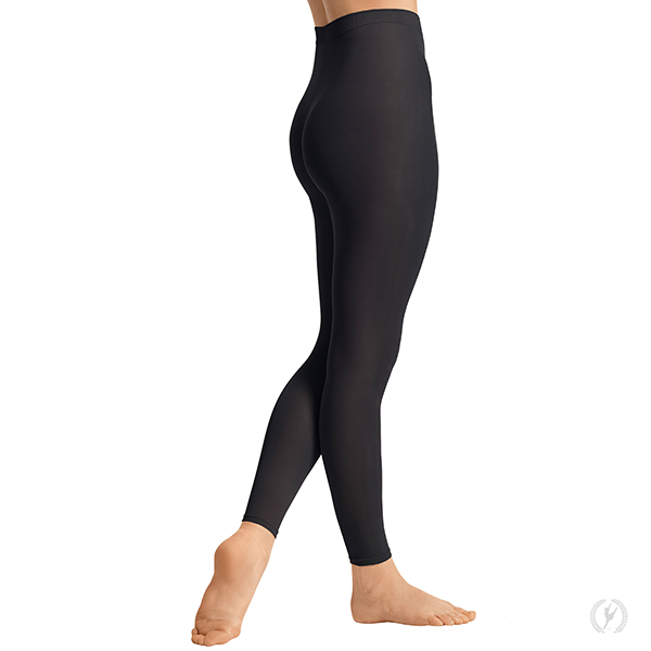 f27c9809a2434 Womens Non-Run Stirrup Tights with Soft Knit Waistband by EuroSkins ...