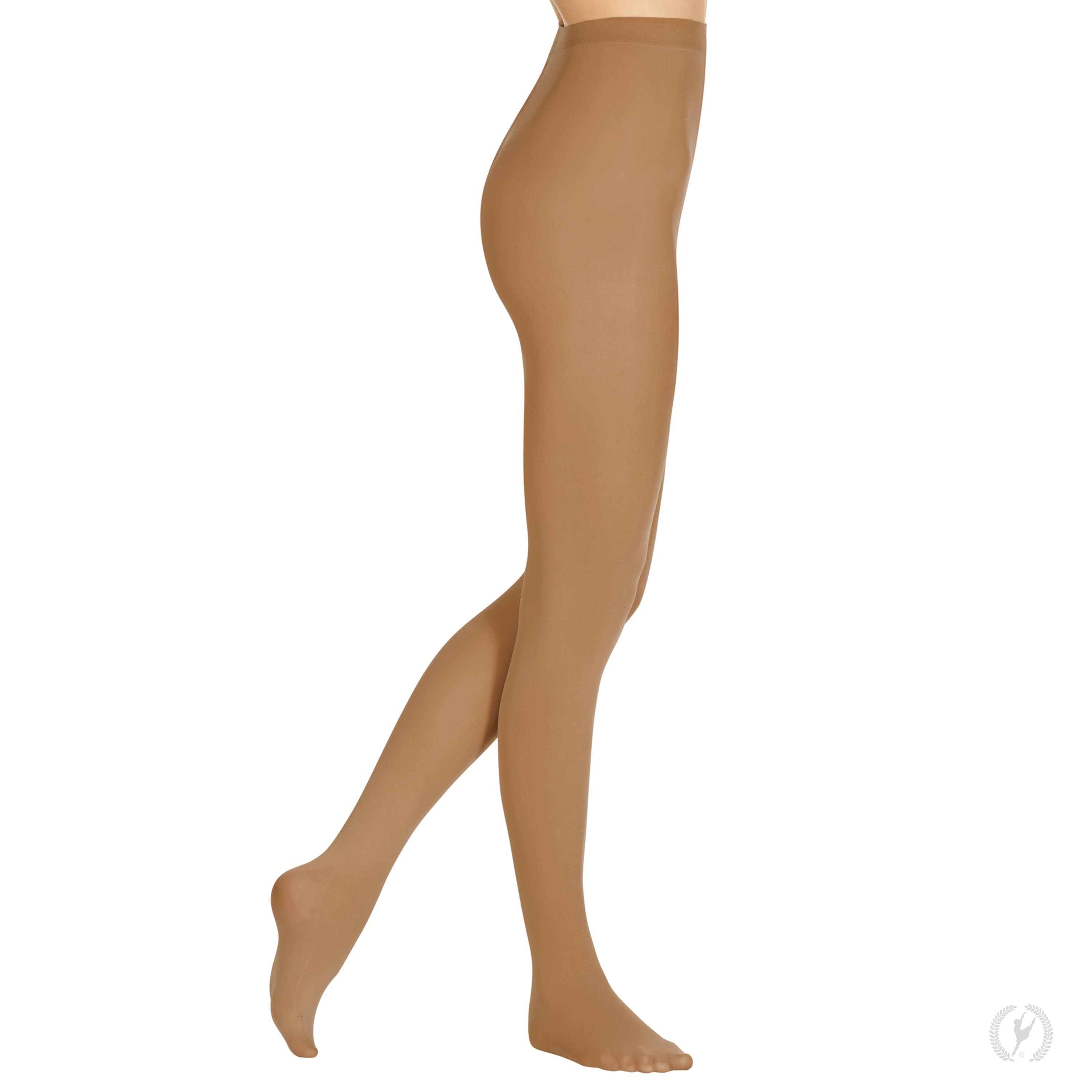 81b3f526ea313 215 - Eurotard Womens Non-Run Footed Tights with Soft Knit Waistband by  EuroSkins