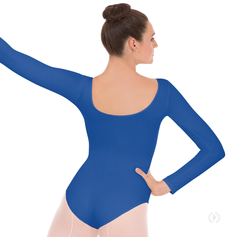 bd32afcea Womens Long Sleeve Leotard with Tactel® Microfiber