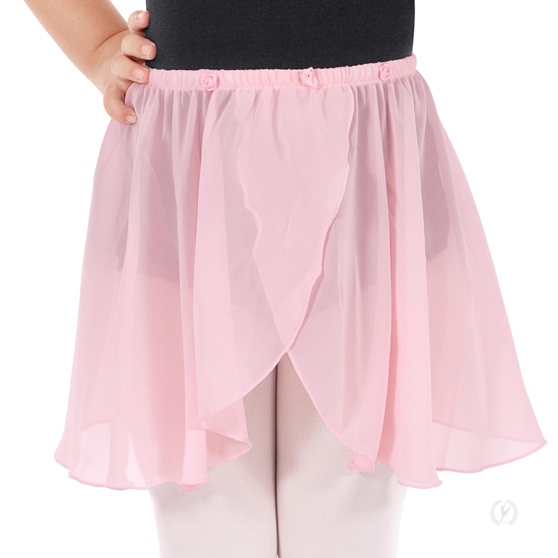 b9d16b6a473f Child Pull-On Mock Wrap Skirt