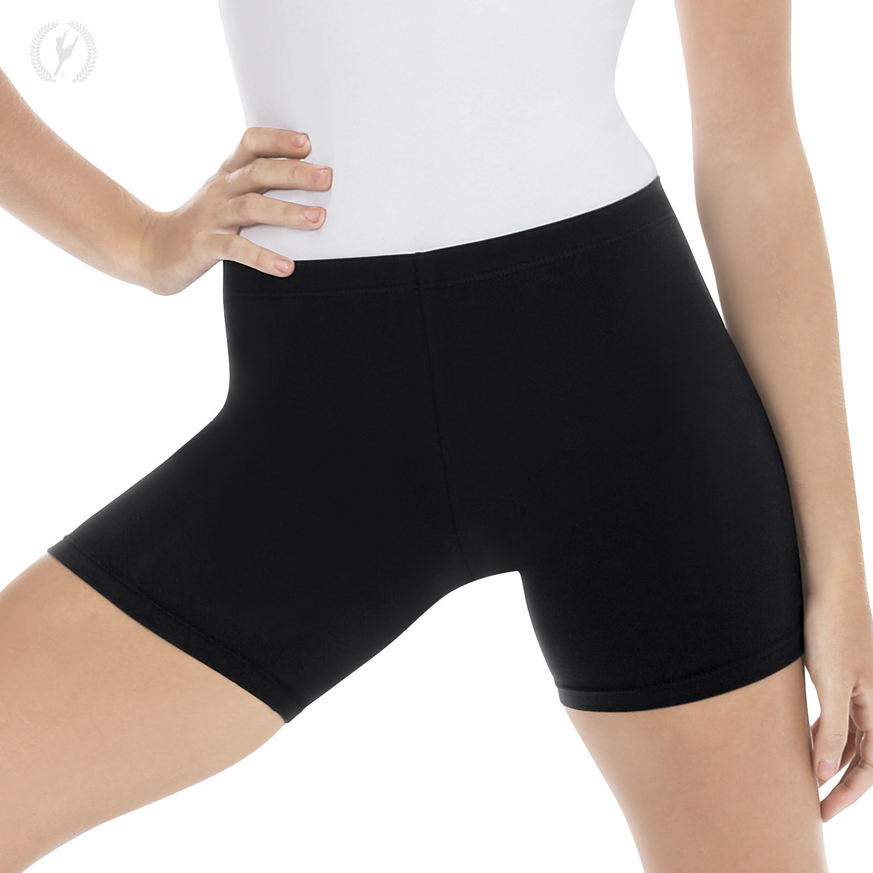Womens Mid Thigh Shorts With Cotton Lycra 174 10331