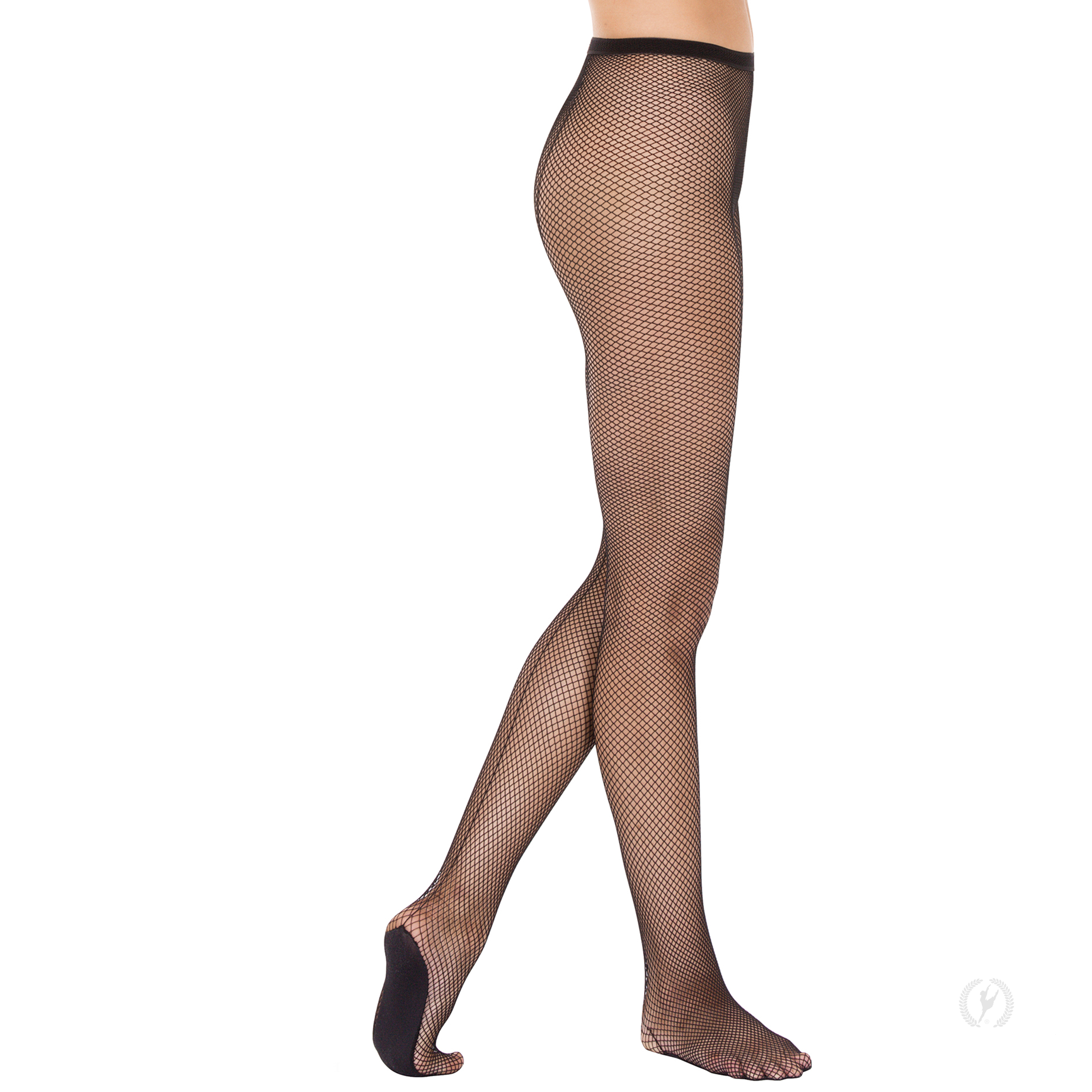 94d7b797d34 214 - Eurotard Womens Professional Back Seam Fishnet Tights with Lined Foot  by EuroSkins
