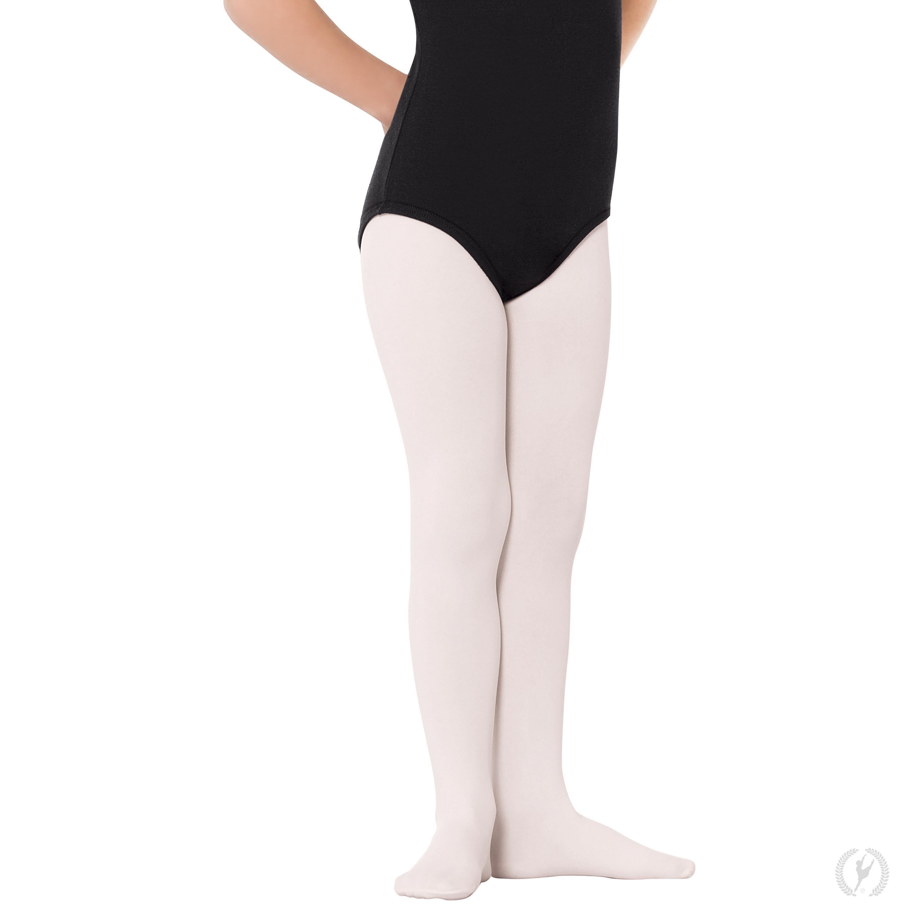 8b6845b59e3345 215c - Eurotard Girls Non-Run Footed Tights with Soft Knit Waistband by  EuroSkins