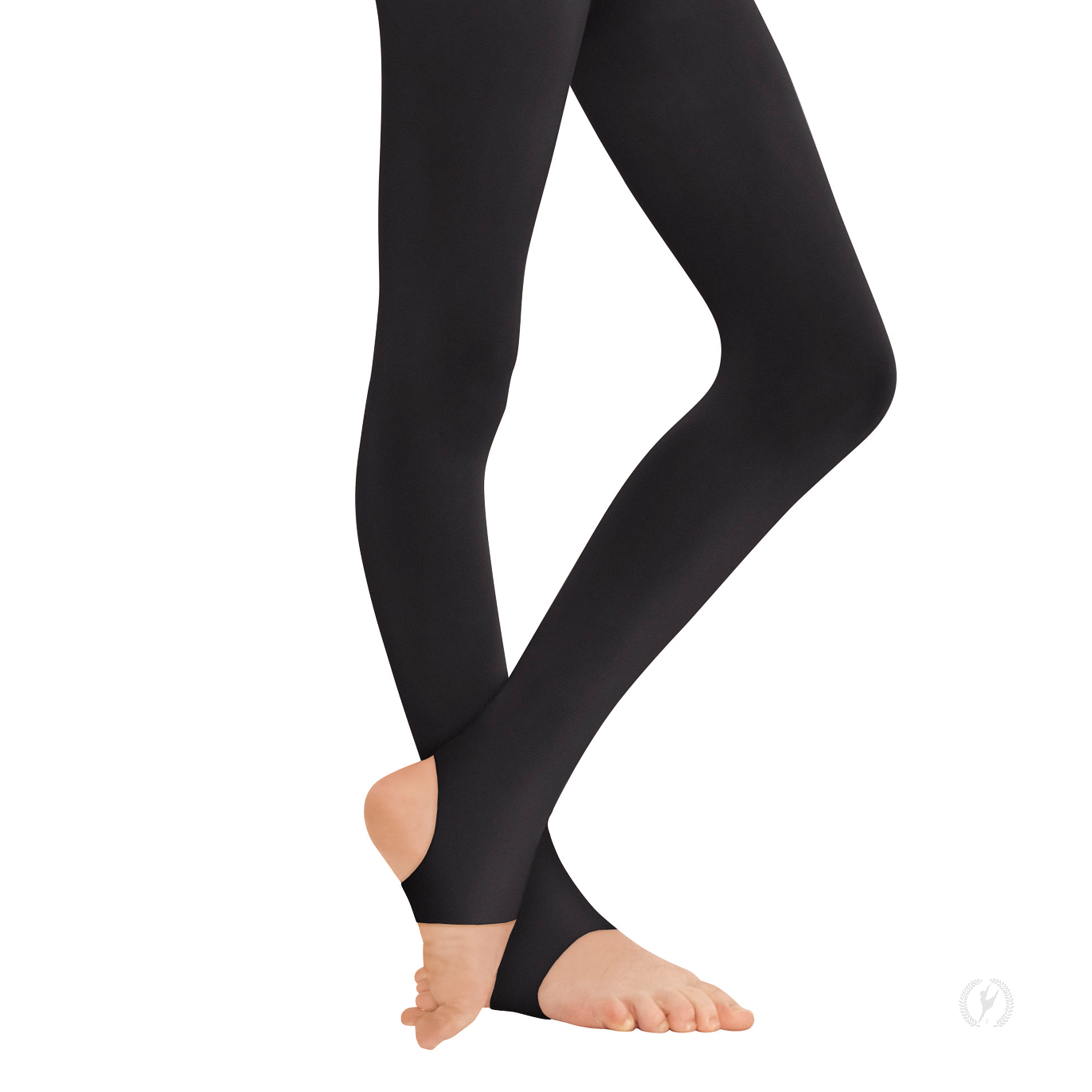 a3c09798793 217c - Eurotard Girls Non-Run Stirrup Tights with Soft Knit Waistband by  EuroSkins